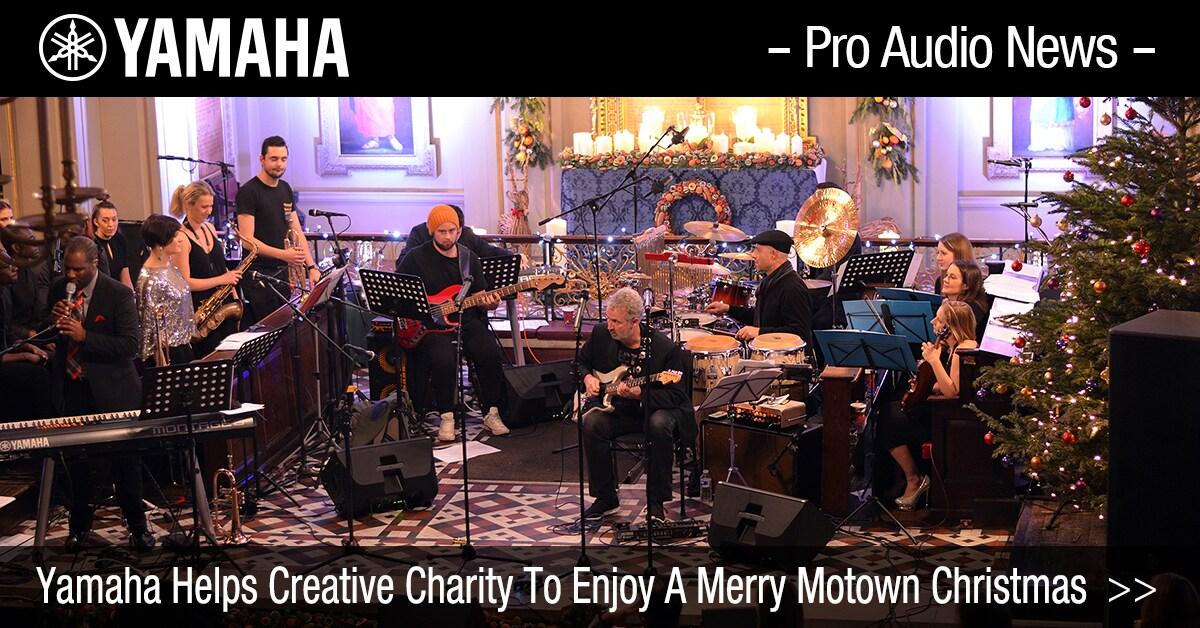 Motown Christmas Music.Yamaha Helps Creative Charity To Enjoy A Merry Motown Christmas