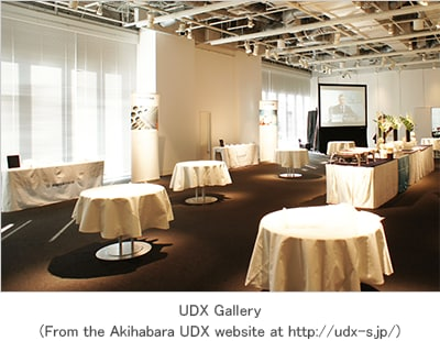 Please begin by describing UDX Conference and UDX Gallery for us.