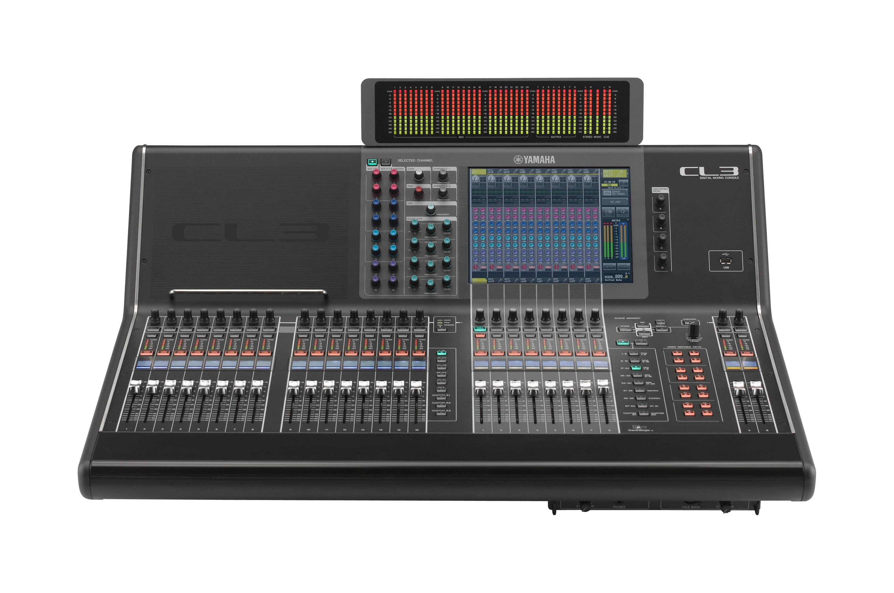 CL Series - Overview - Mixers - Professional Audio - Products