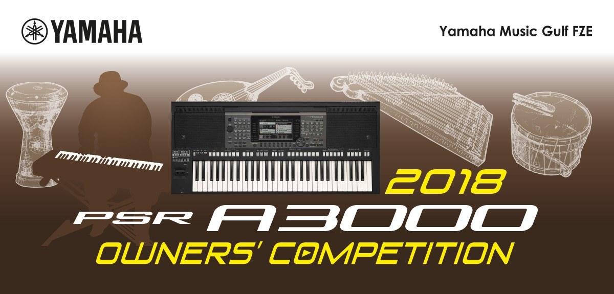 Site search yamaha africa asia cis latin america for Yamaha a3000 keyboard