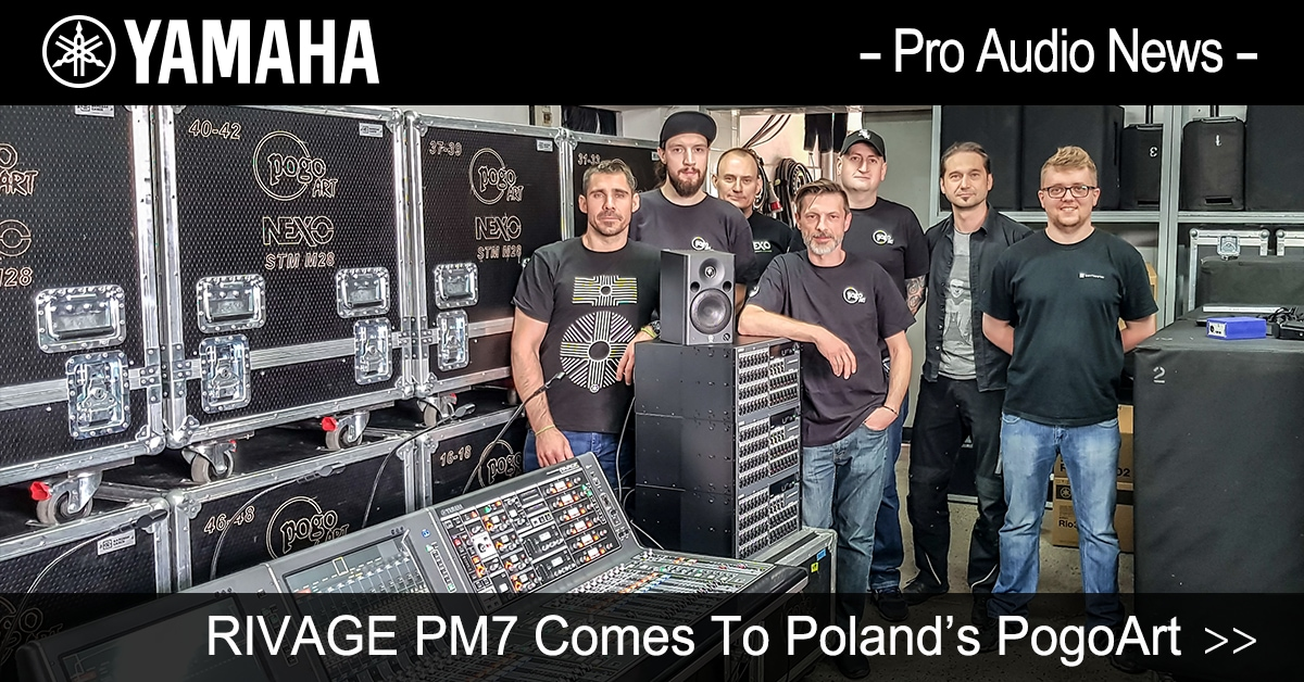 RIVAGE PM7 Comes To Poland's PogoArt