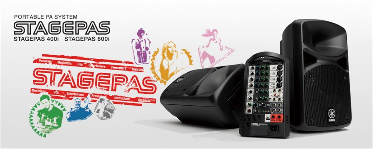 STAGEPAS 400i/600i - Overview - PA Systems - Professional