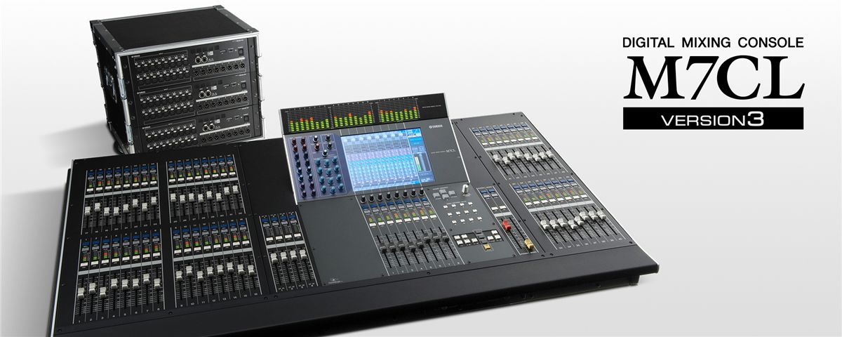 Yamaha M7CL V1 Digital Mixer Driver Windows XP