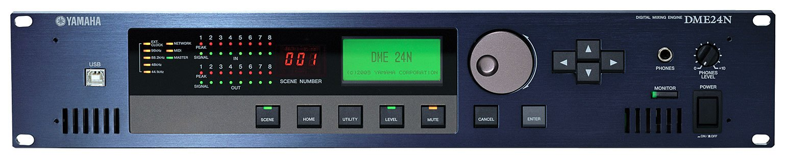 New Driver: Yamaha DME24N Processor