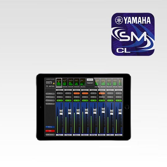 Cl Stagemix Overview Software Professional Audio Products Yamaha Africa Asia Cis Latin America Middle East Oceania