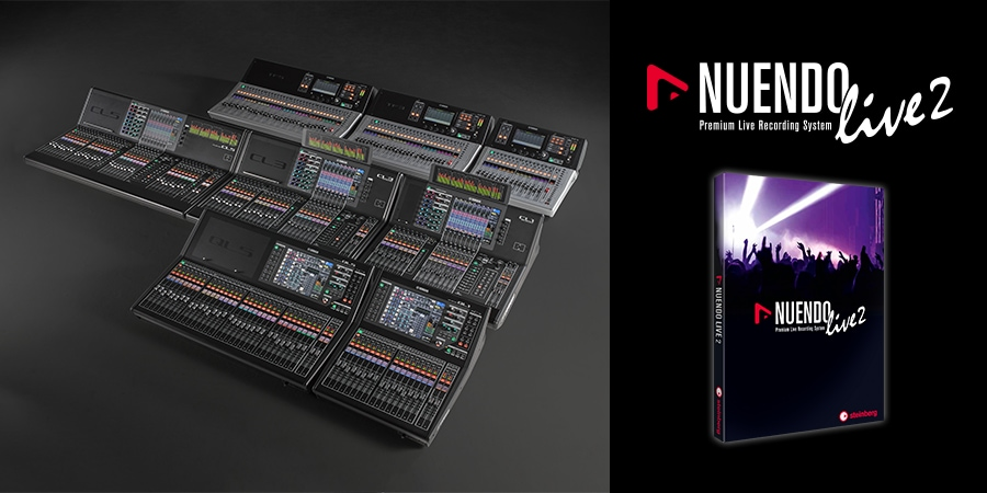 New Power and Performance for Live Recording  Nuendo Live 2