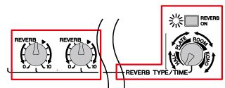 6. Apply breadth and vibrancy to the sound by using reverberation