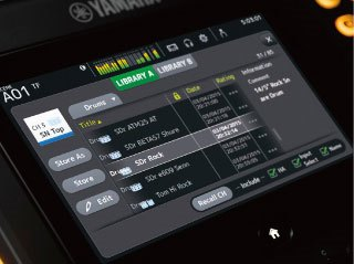 QuickPro Presets™ Provide Instant Access to Pro Sound Setups